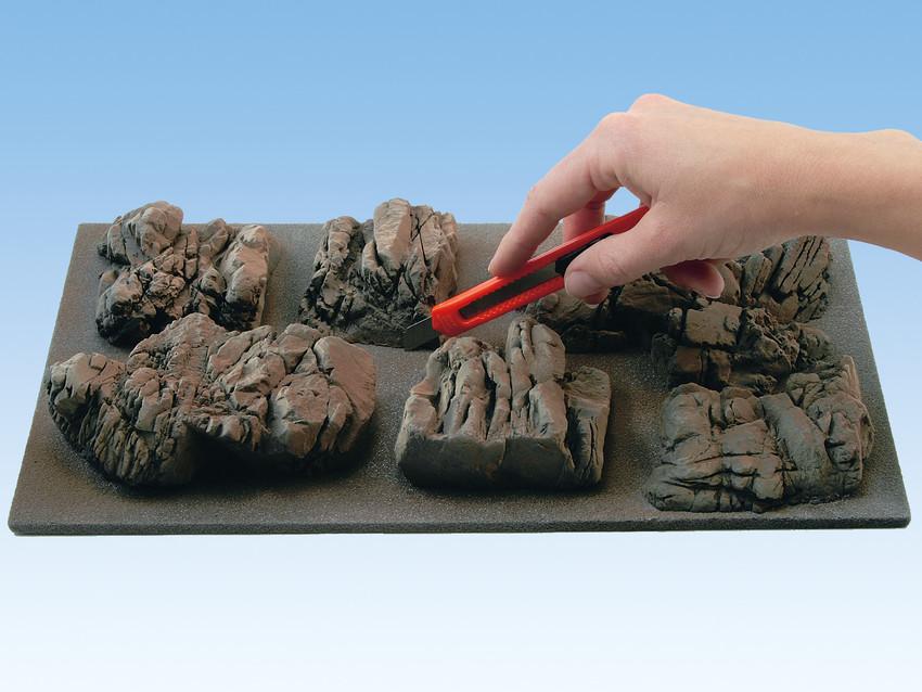 Felswand gestalten